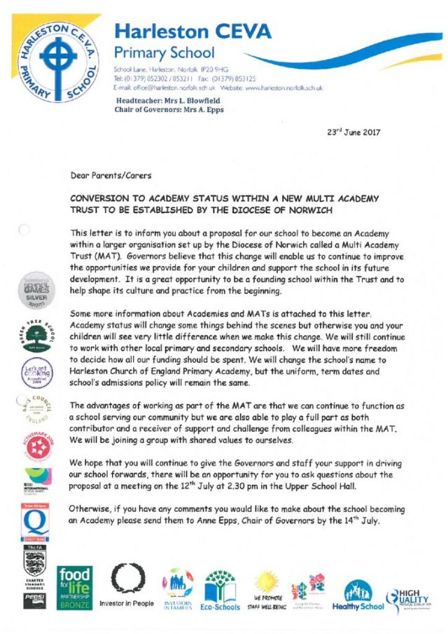 thumbnail of Conversion to Academy Status Letter 23.06.17